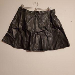 American Eagle vegan leather skirt